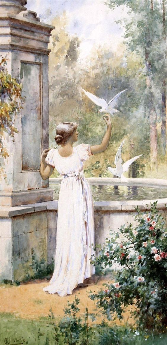 Art by Alfred Glendening Jr. (1861-1907)