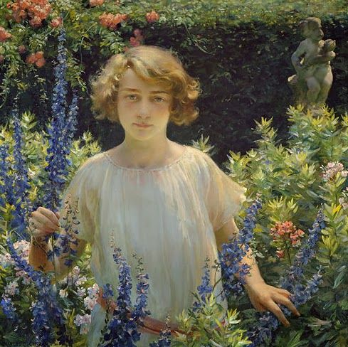 Art by Charles Courtney Curran, Betty Newell