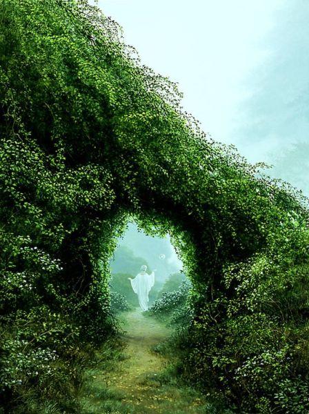Misty Path, Art by Michael Whelan