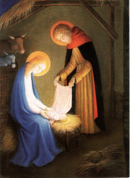 The Nativity ~ Art by Bradi Barth