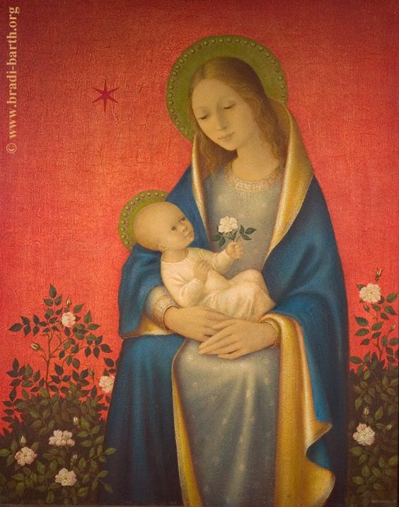 Madonna and Child, Art by Bradi Barth