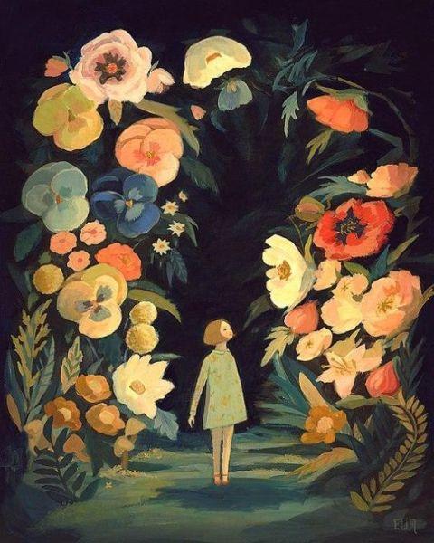 The night garden by Emily Winfield Martin