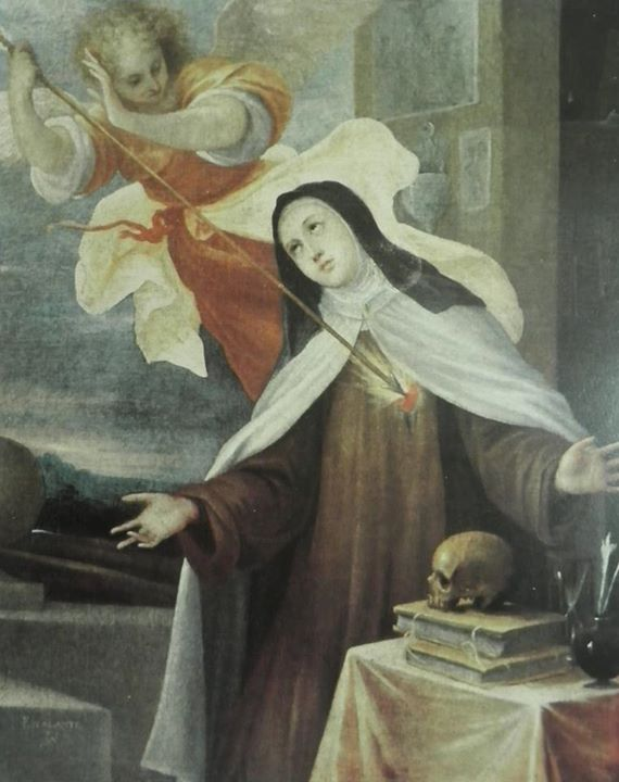 The Transverbaration of Saint Teresa