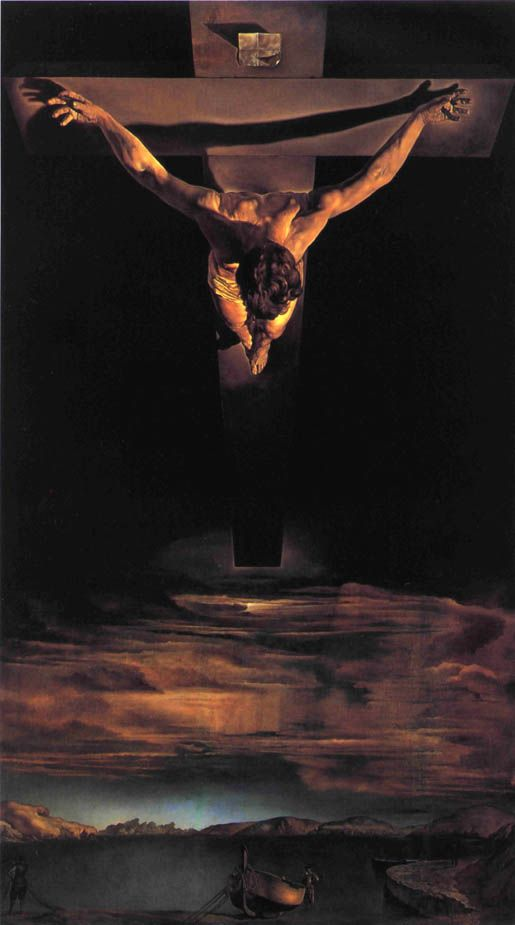 Christ of Saint John of the Cross 1951 art by Salvador Dali
