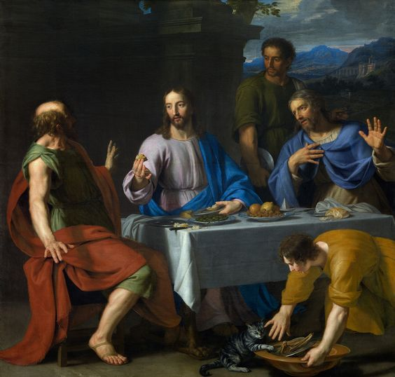 Last Supper art by Jean Baptiste de Champaigne