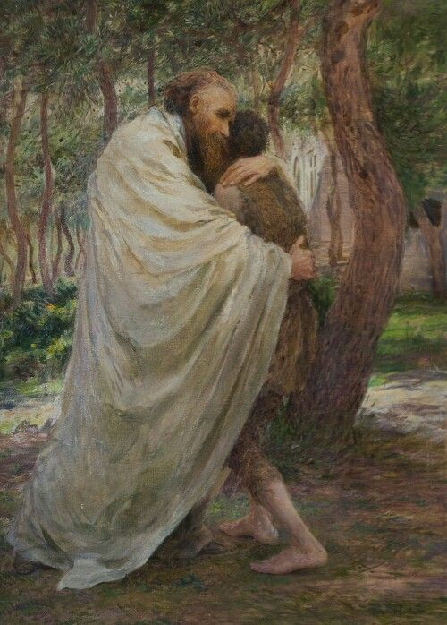 return of the prodigal son by Eugene Burnand