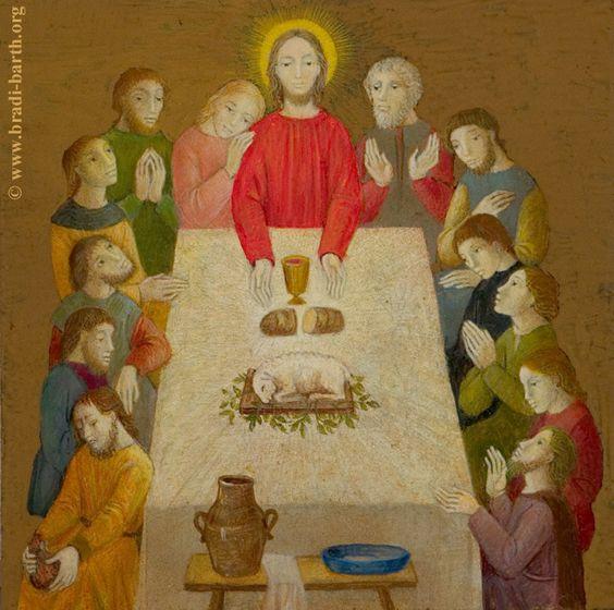 The Last Supper art by Bradi Barth