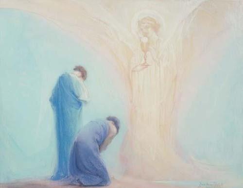 Eucharist art by baron arild rosenkrantz