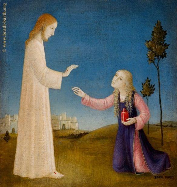 Mary Magadalene after Christ Resurrection