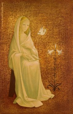 Virgin Mary by bradi brath