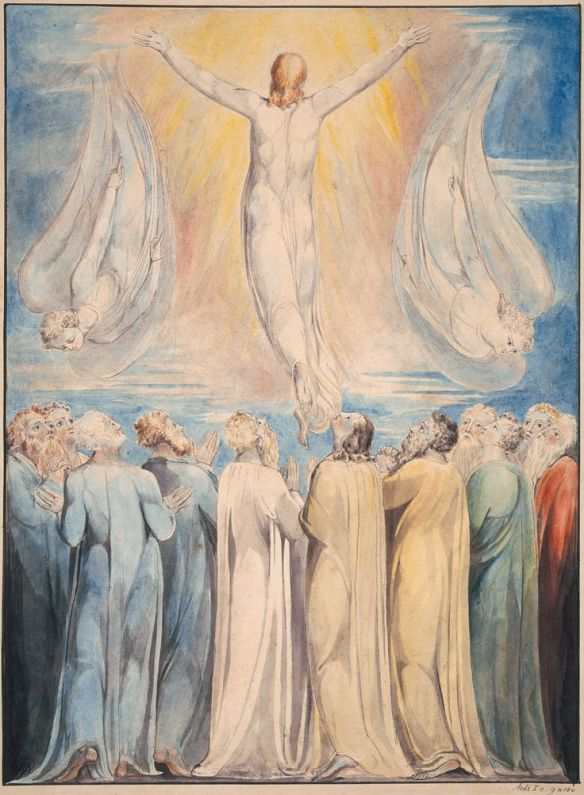 Ascension of Christ by william blake