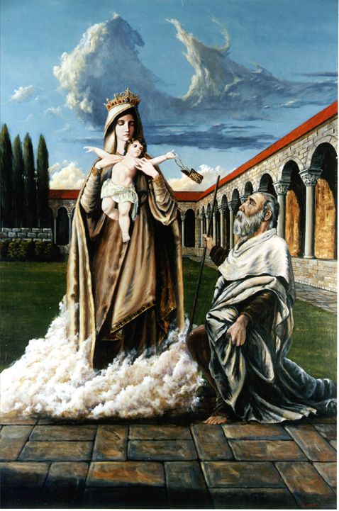Our Lady of Mt Carmel and St Simon
