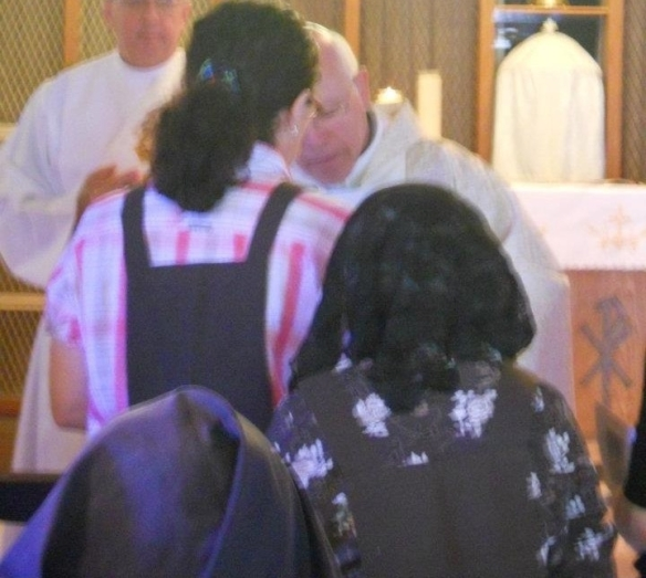 Investiture of the Brown Scapular of Our Lady of Mount Carmel