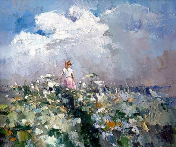 garden after the storm art by alexi zaitsev