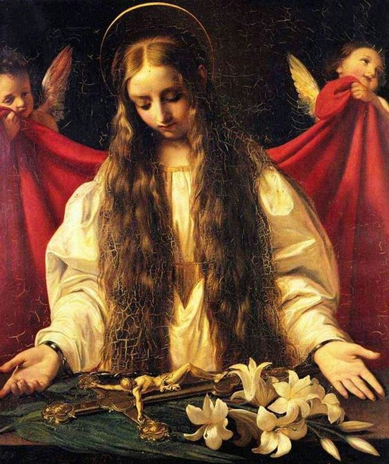 Mary Magdalene beautiful art