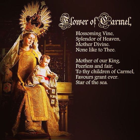 Our Lady of Mount Carmel Star of the Sea