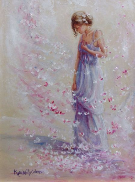 woman art by karen wallis