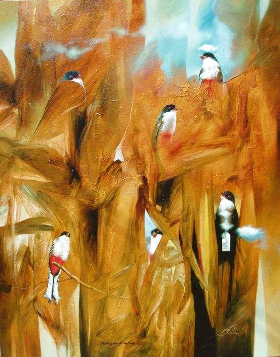 Birds of Cuba art