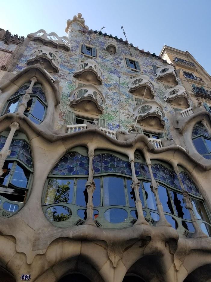 Barcelona 2018 casa batlo fachada