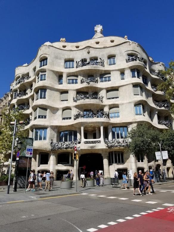 Barcelona 2018 la pedrera casa mila