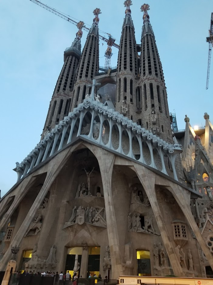 Barcelona 2018 sagrada familia