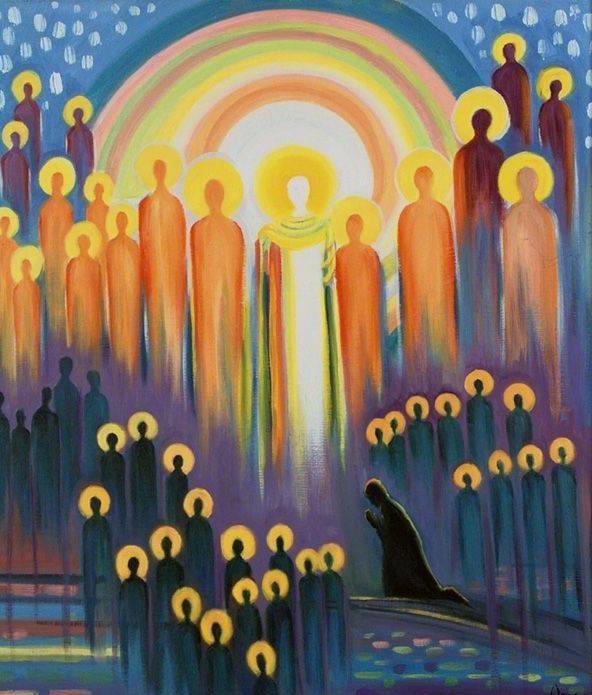 All Saints by elizabeth wang