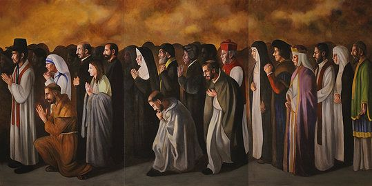 Communion of saints by john mccoy3