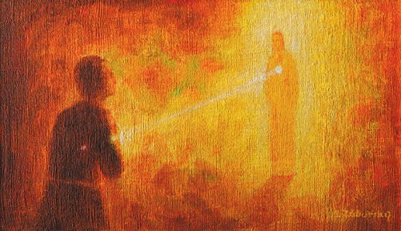 Eucharistia by ladislav Zaborsky