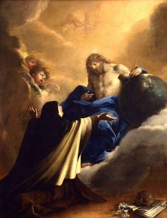 Saint Teresa vision