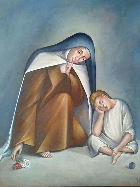 Santa teresita y Jesus
