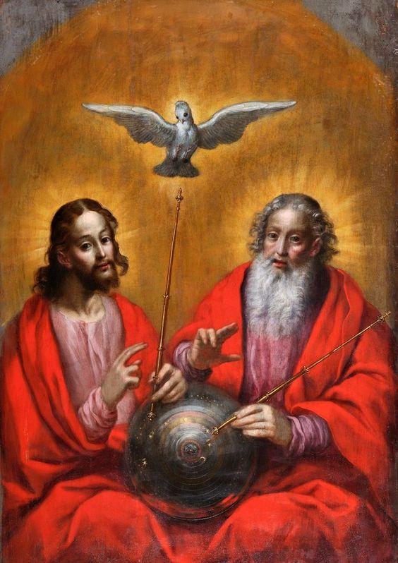 Holy Trinity art by Herman Han