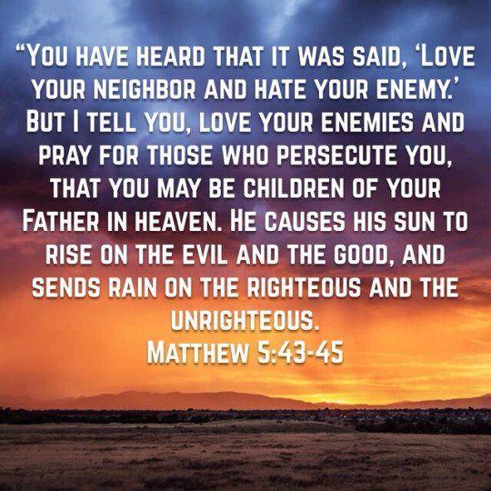Matthew 5 45