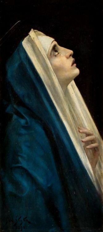 Maria by jan styka