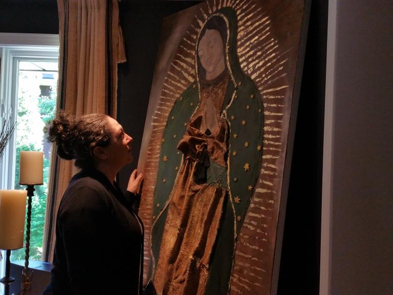 Virgen de Guadalupe y yo