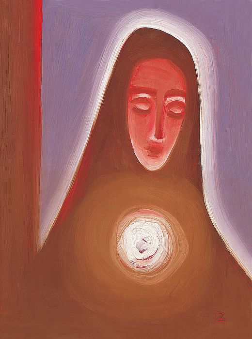 Virgin Mary by ladislav Z