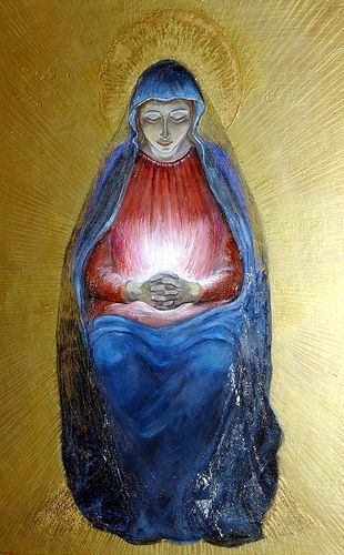 Virgin Mary pregnant