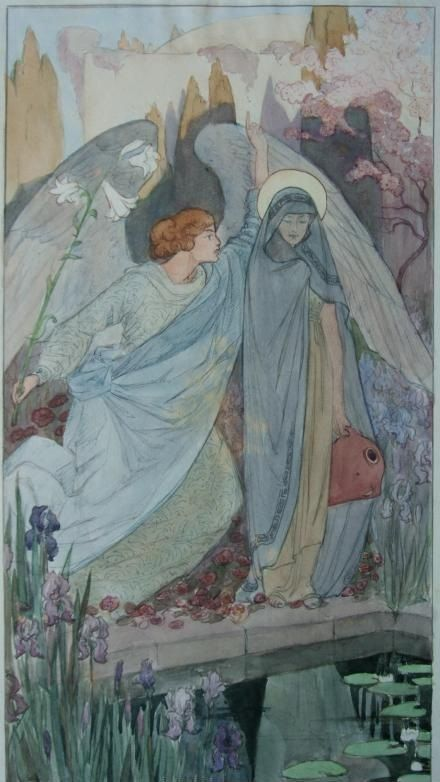 Annunciation by von schlogl