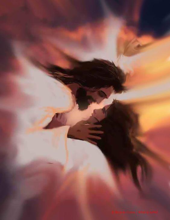 jesus and me art by ricardo colon