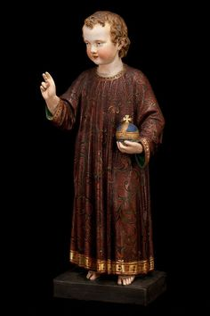 jesus with the ancient brown habit of carmel