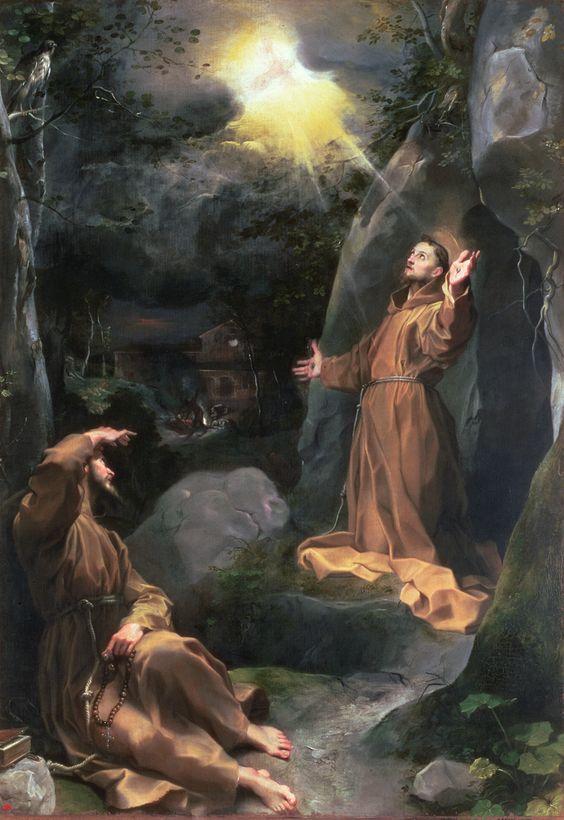 Saint Francis Stigmatization of St Francis c 1594-5 (II Baroccio)