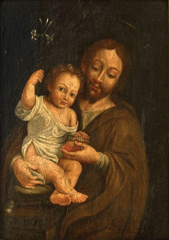 San Jose y Jesus art