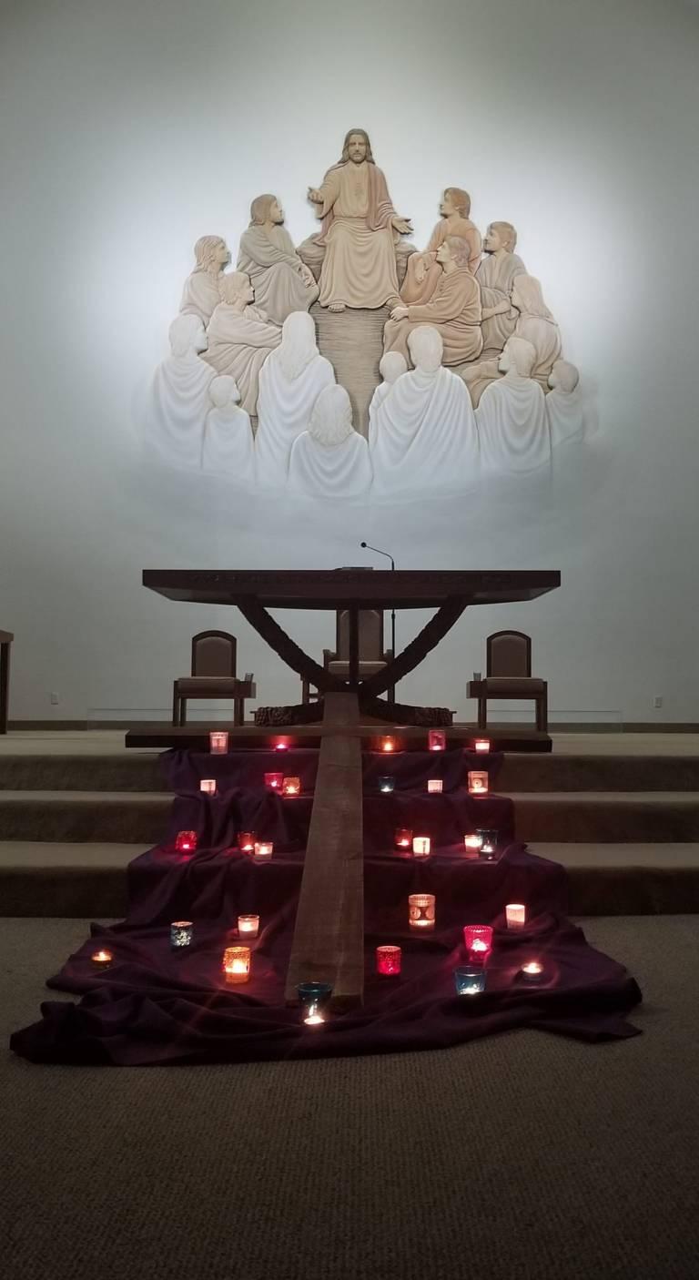 cross and prayers