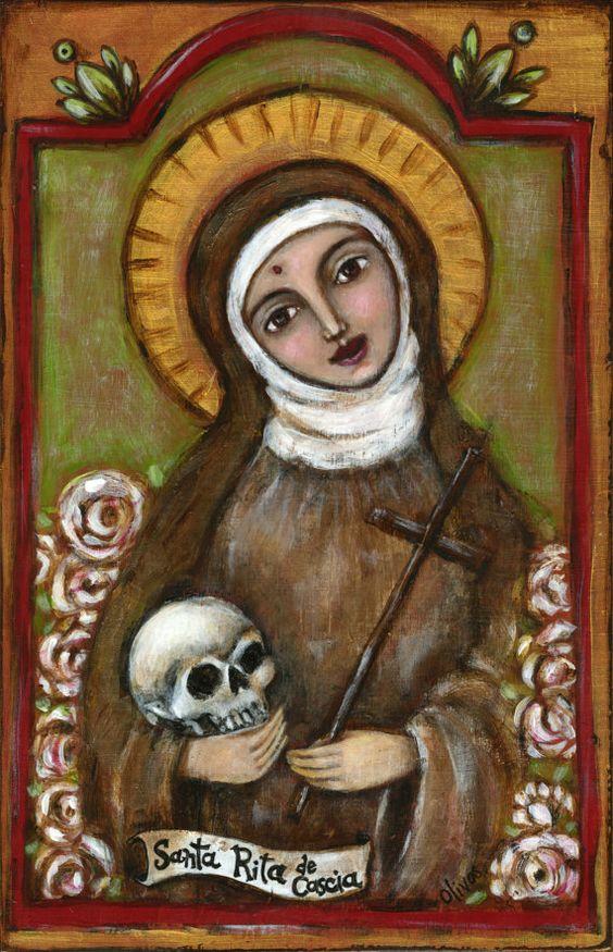 saint rita by unknown artist