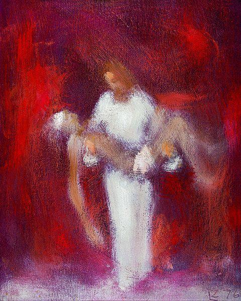 Christ art by ladislav zaborsky