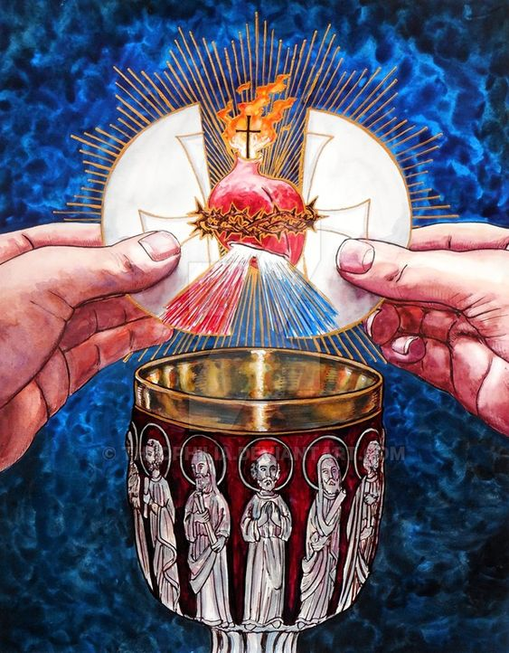 The Body and Blood of Christ by Theophilia